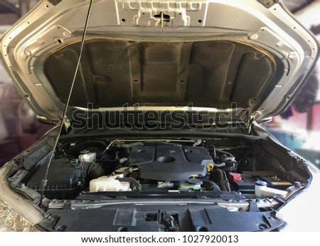 Structure Detail Car Engine Stock Photo (Download Now) 1027920013 ...