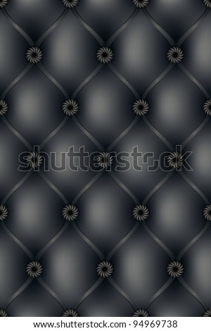Structure of a skin of black colour - stock photo
