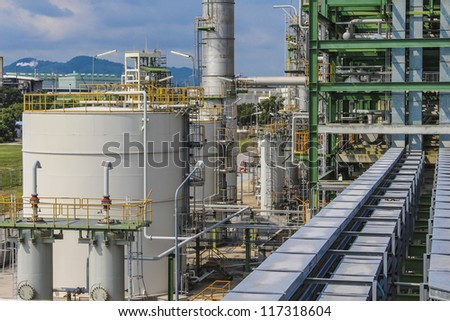 Structure of chemical plant