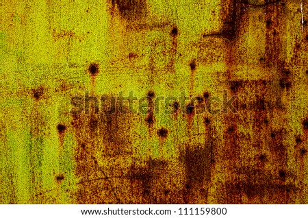 Structure of rusty surface - stock photo