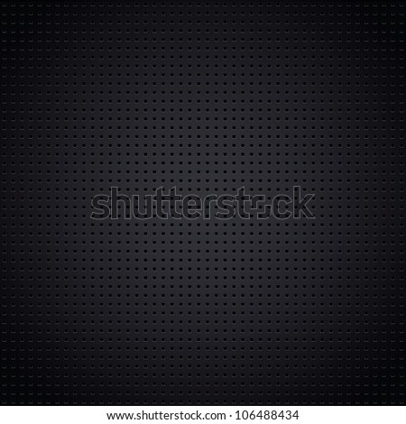 Structured metallic perforated sheet - stock photo
