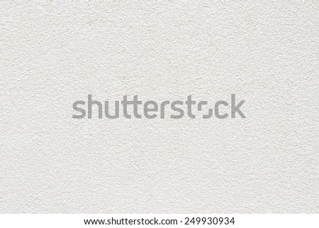 Stucco white wall background or texture - stock photo