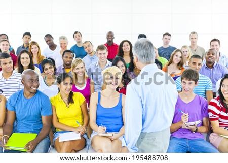 Student Class - stock photo