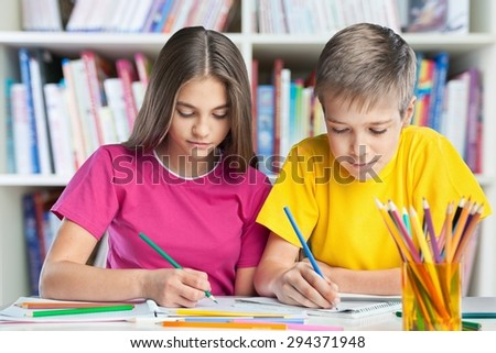 Student, classroom, school. - stock photo