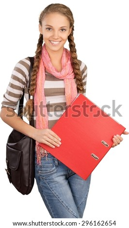 Student, College Student, Teenager. - stock photo
