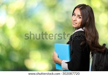 Student, College Student, University. - stock photo