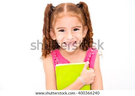 student girl - stock photo