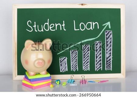 Student Loan - stock photo