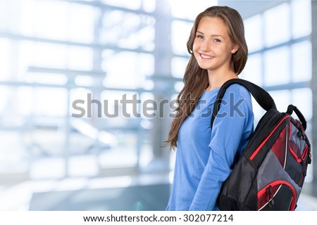 Student, Teenager, Education. - stock photo