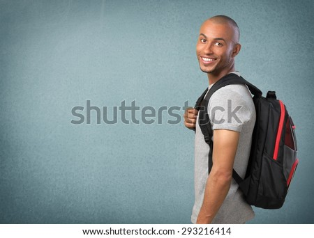 Student, Teenager, University. - stock photo