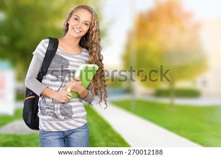 Student, University, College Student. - stock photo