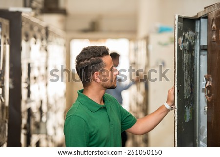 Students - stock photo
