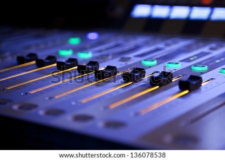 Studio Mixer - stock photo
