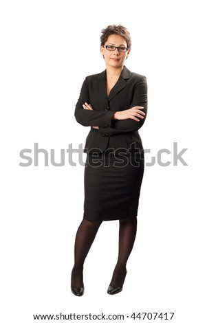 Studio portrait of a beautiful and confident young businesswoman - stock photo