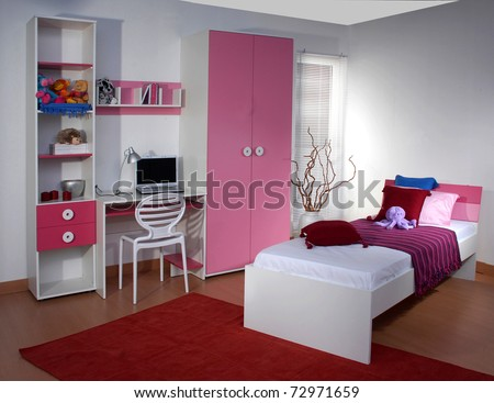 Studio shoot of children room