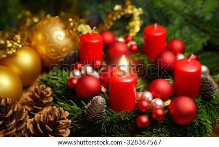advent wreath stock images royalty free images vectors. Black Bedroom Furniture Sets. Home Design Ideas