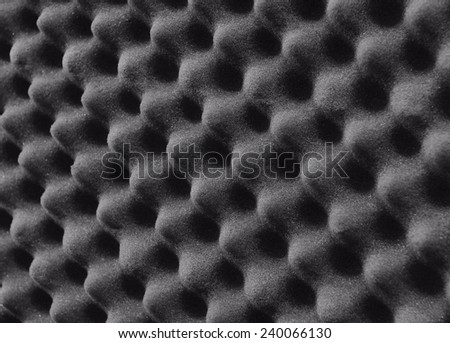 Studio sound proof foam - stock photo