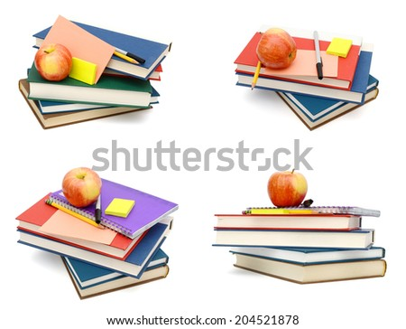 Studying in school, at first day concept - stock photo