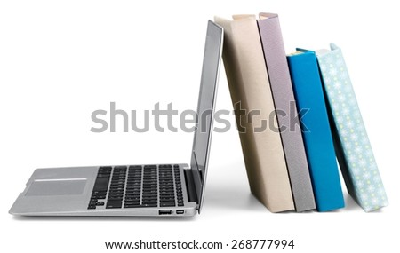 Studying. Modern education and online learning - stock photo