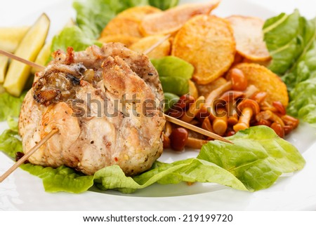 stuffed pork
