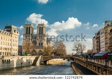 Stunning Notre Dame - stock photo