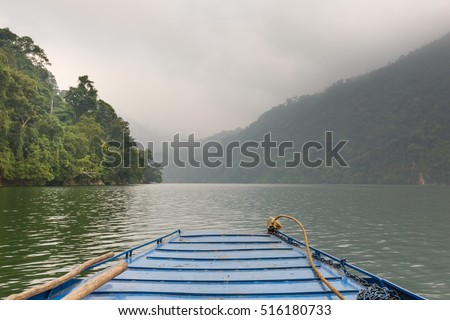 Stunning scenery of Ba Be Lake in Bac Kan Province, Vietnam