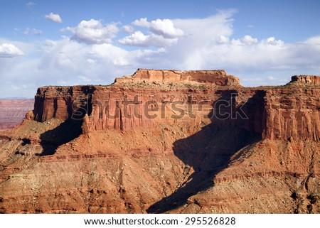 Stunningly beautiful desert landscape Utah Wilderness - stock photo
