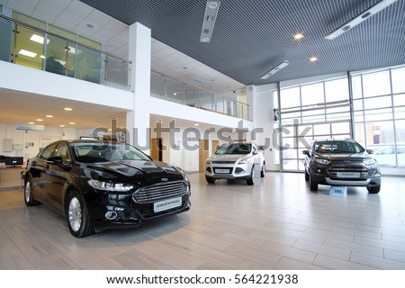 Car showroom stock images royalty free images vectors for Car showroom exterior design