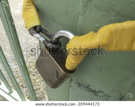 Sturdy Key to the Iron Door