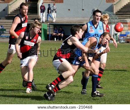 Sturt Vs. Norwood, South Australian Football League, 2004 (Aussie Rules)