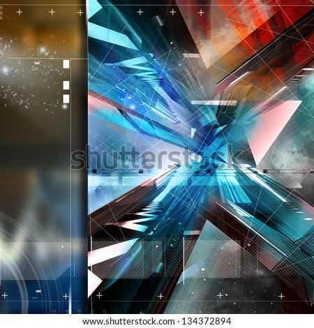 style background design - stock photo