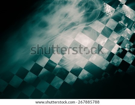 "Stylish abstract background with iridescent highlights, topics close to racing and speed. Grungy texture, is ""dirty"" and some ""graininess"" - stock photo"