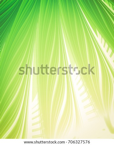 Stylish and harmonious summer background. Colors tender spring or summer greens fresh and energizing
