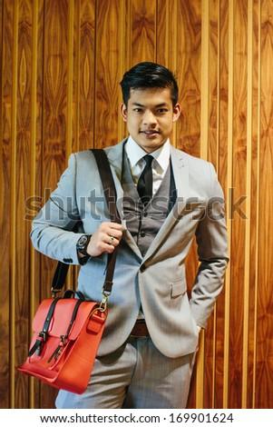 stylish businessman - stock photo