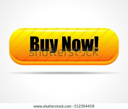 "Stylish ""Buy now!"" button - stock photo"