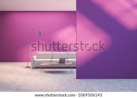 Funky Stylish Living Room Motif - Living Room Designs ...
