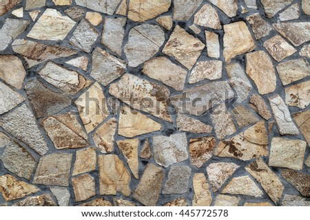 Stylish stone wall background - stock photo