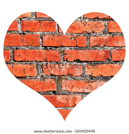 Heart Brick Wall Stock Images, Royalty-Free Images ...