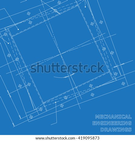 Subject background. Mechanical engineering elements. Technical illustration
