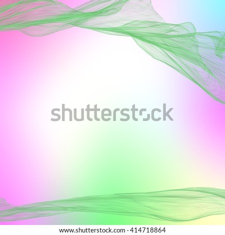 subtle pastel background with abstract silk waves