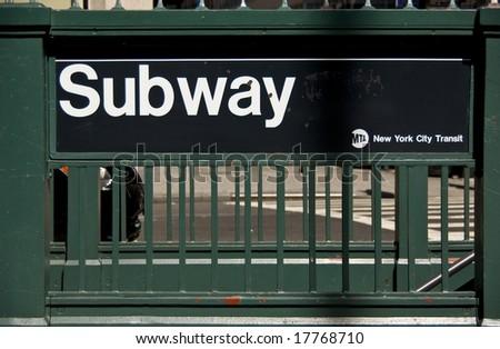 Subway new york running times magazine