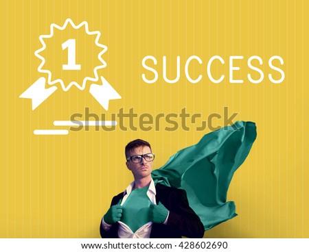 Success Achievement Accomplishment Strategy Improvement Concept - stock photo