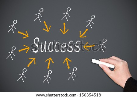 Success Concept - stock photo