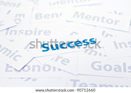Success concept word