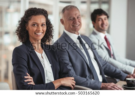 Success has this business team smiling