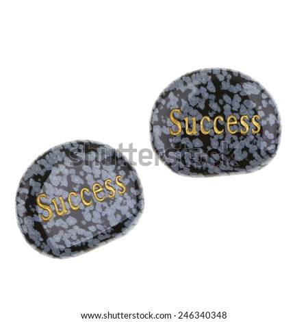 Success Marble Rocks - stock photo