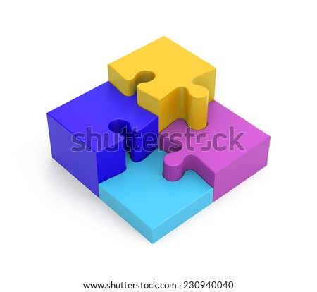 Success metaphor - stock photo