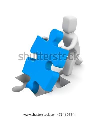 Success metaphor - stock photo