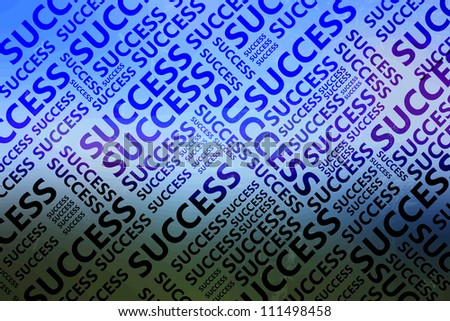 Success pattern on blueish background/Success/Success pattern