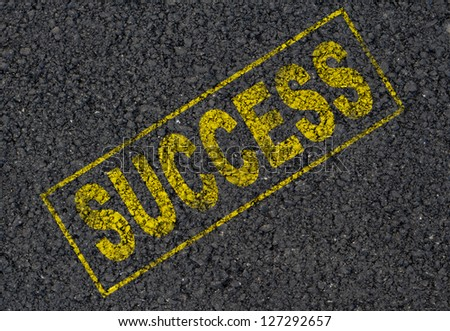 Success stamp background